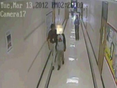 Video shows Burke Middle student striking teacher