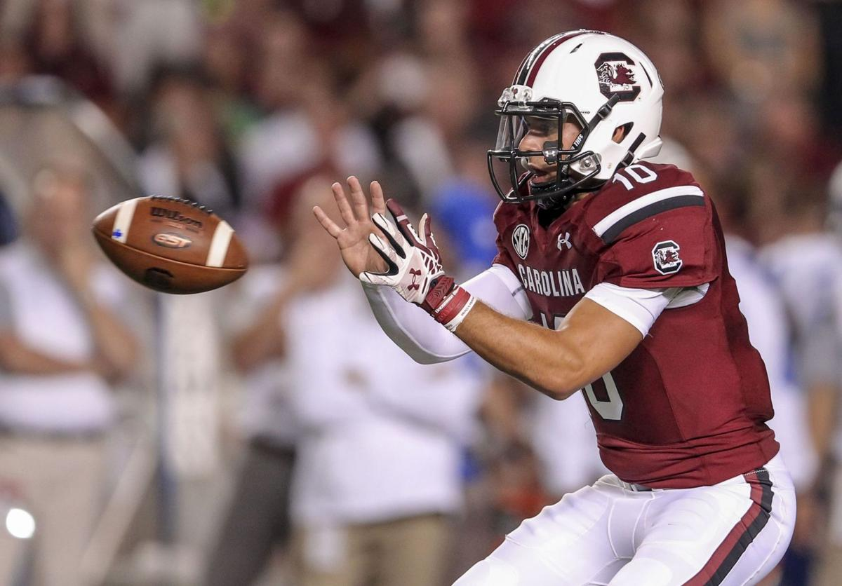 Gamecocks quarterback Perry Orth beat the odds even before his first start