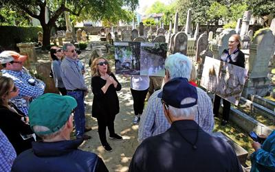 Charleston synagogue hopes to raise six figures for cemetery work