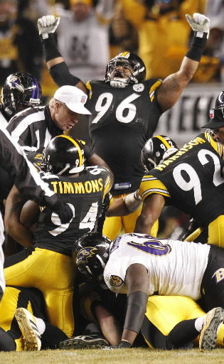 Steelers reach AFC title game with rally