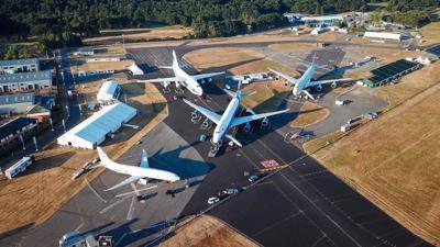 Boeing at Farnborough Airshow