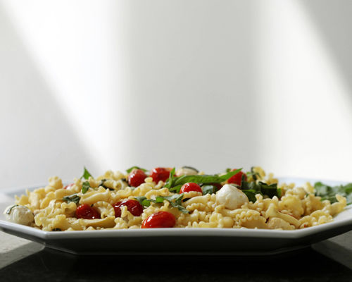 Pasta dish easy for weekdays