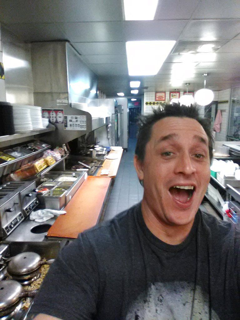 Man Cooks Meal And Takes Selfie As Worker Sleeps At S C Waffle
