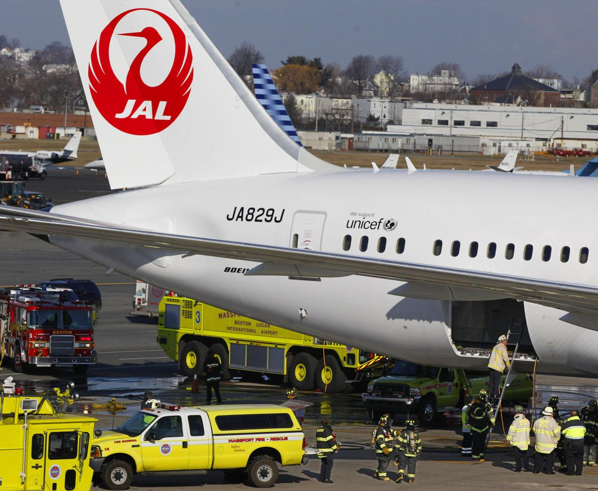 Boeing confirms new 787 battery incident