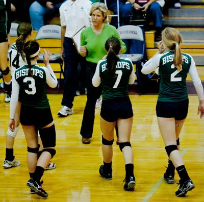 Bishops, Warriors vie for volleyball titles Saturday