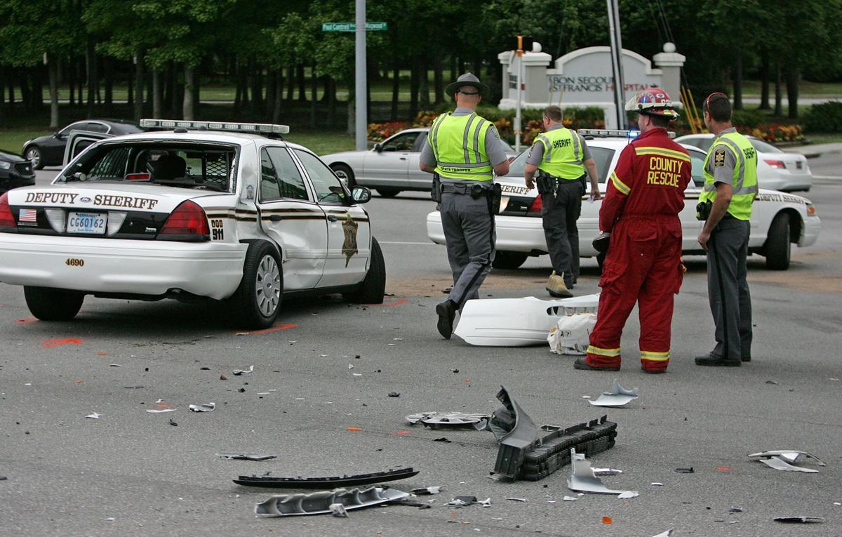 Deputy, motorist, dog hurt