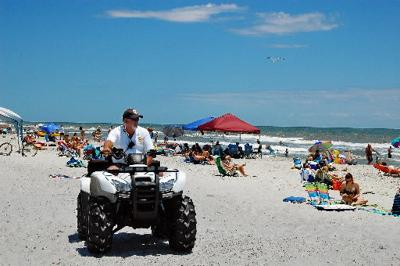Folly police ramp up efforts over holiday
