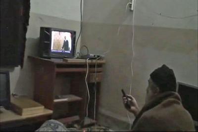 Videos show rare side of bin Laden