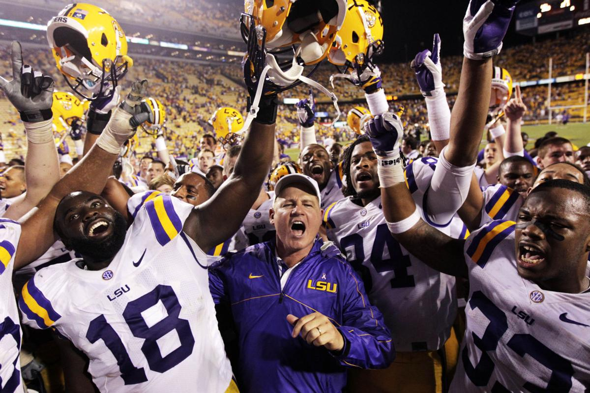 At LSU, a quarterback quandary and a power in flux