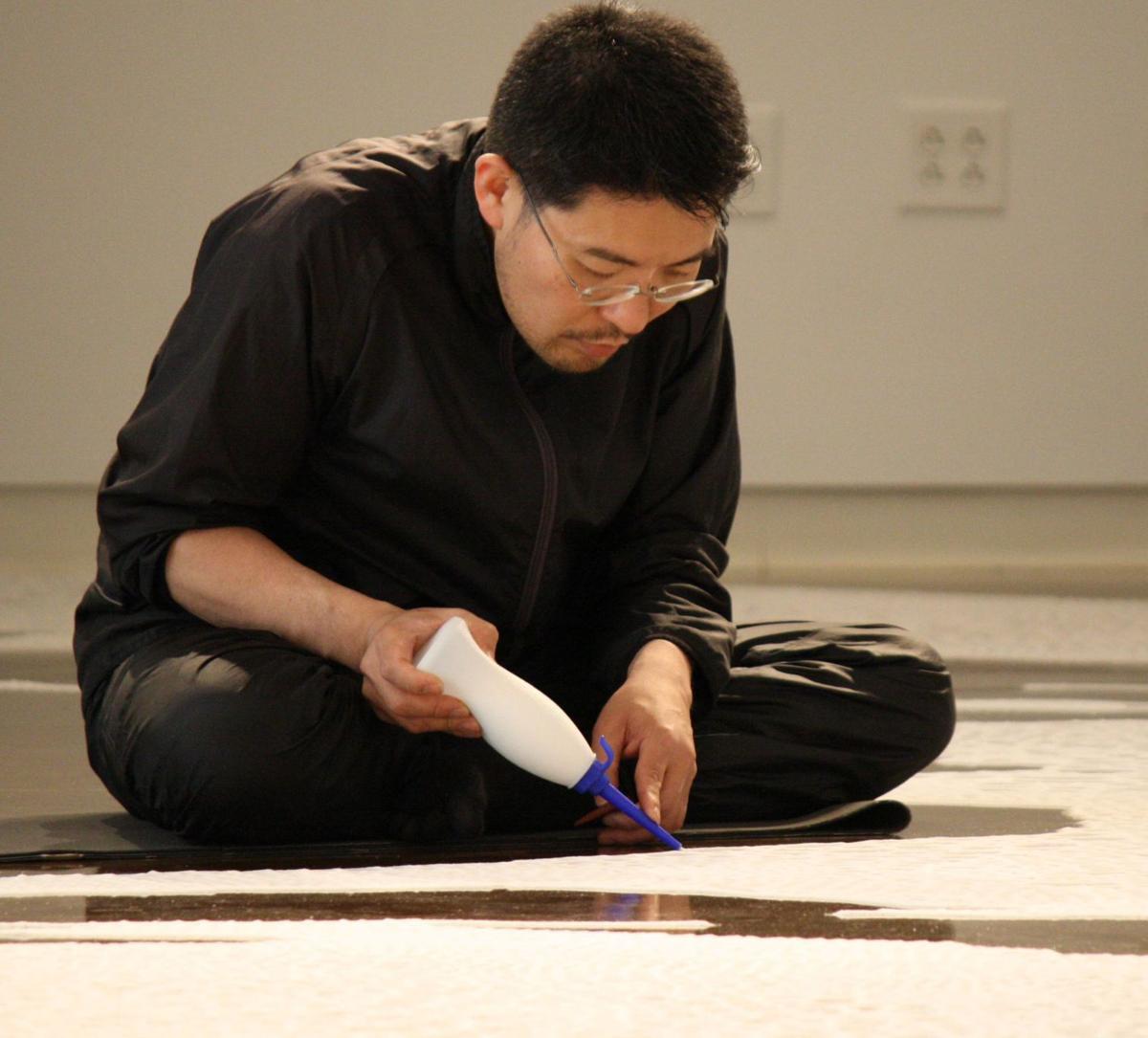 Saltworks Motoi Yamamoto creates spiral of birth, death, rebirth