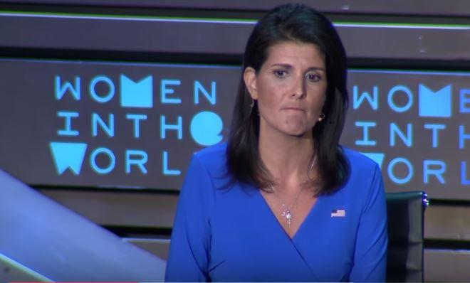 Haley screengrab Women Summit