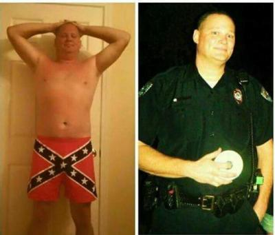 North Charleston officer who posed in rebel flag boxer shorts loses appeal to get job back (copy)