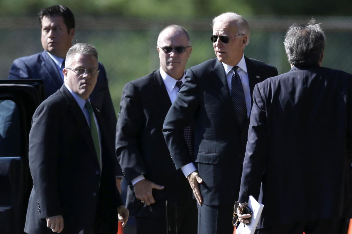 VP Biden expected in Charleston this afternoon