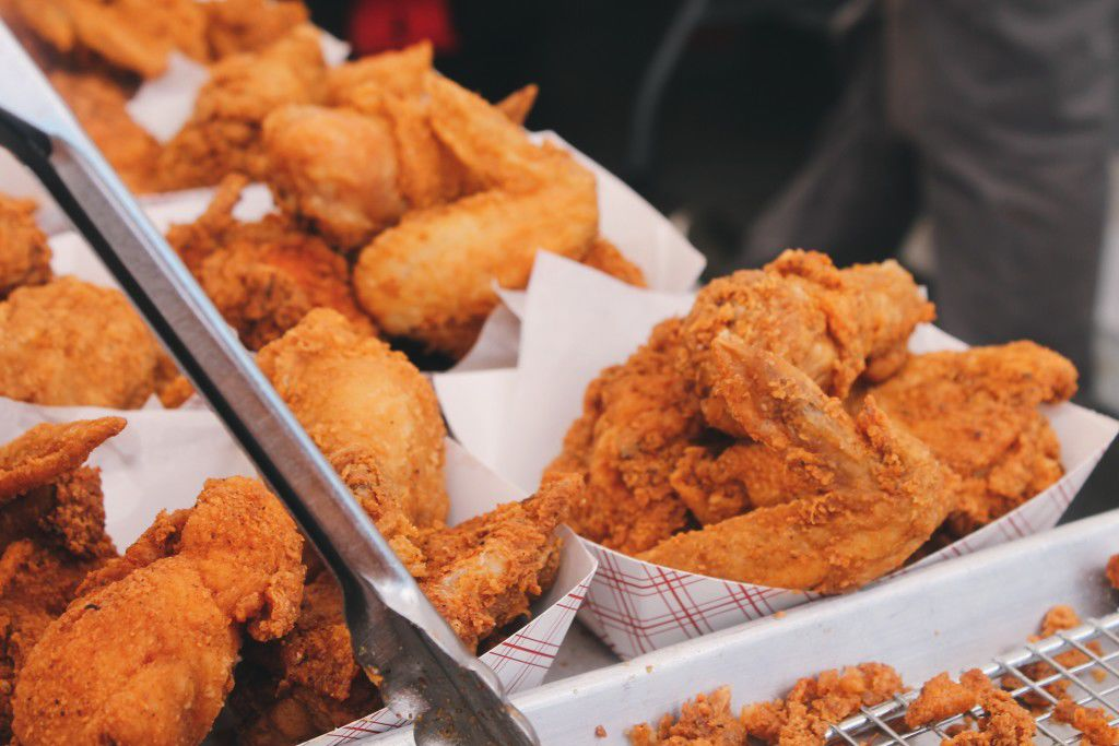 Were Licking Our Lips For The First Southern Fried Chicken