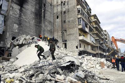 Syria Building Collapse