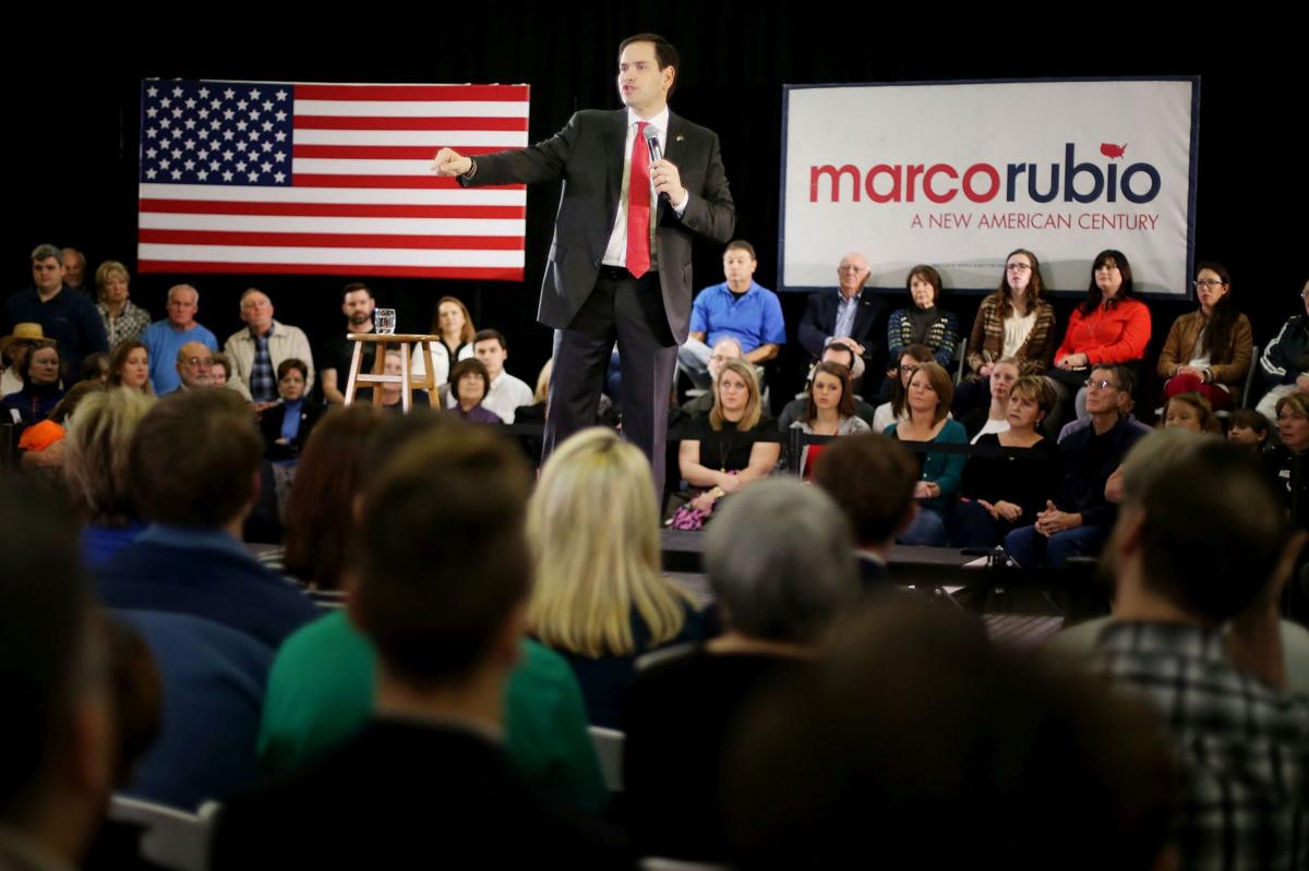 In Mount Pleasant, Rubio makes his case as a party unifier