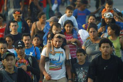 APTOPIX Mexico Migrants