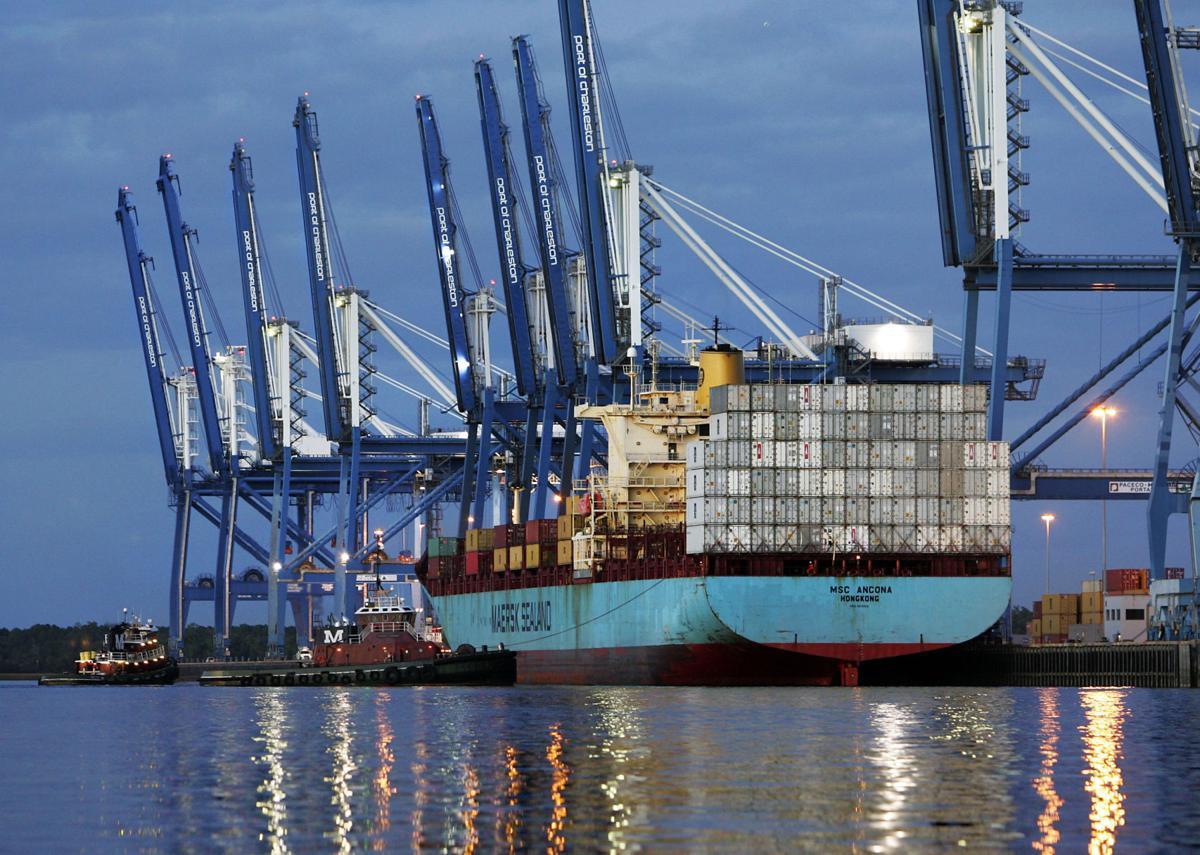Port adds customer
