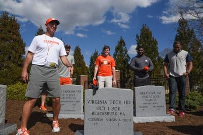 LEDE Clemson graveyard