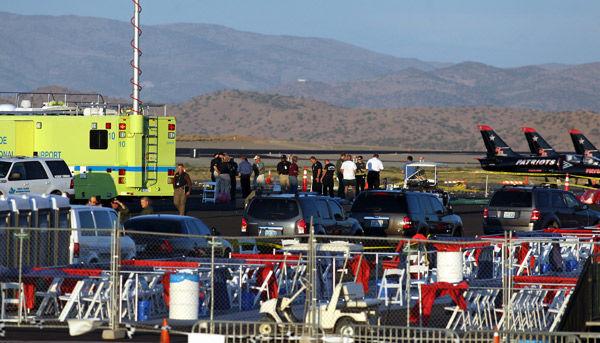Nevada air show crash kills 3