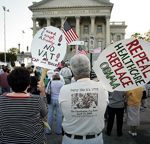 Tea party's sway to be determined