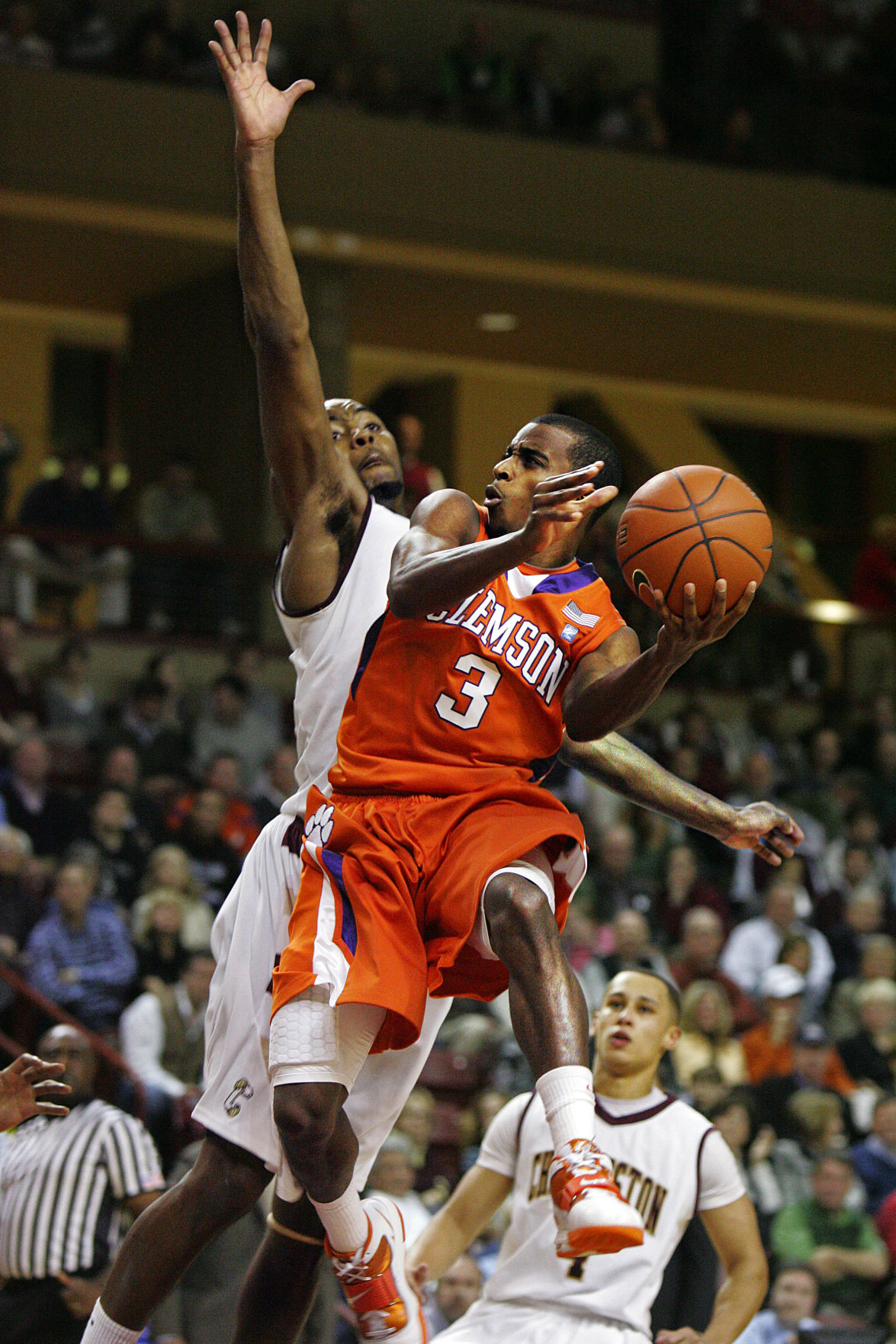 Clemson at College of Charleston basketball