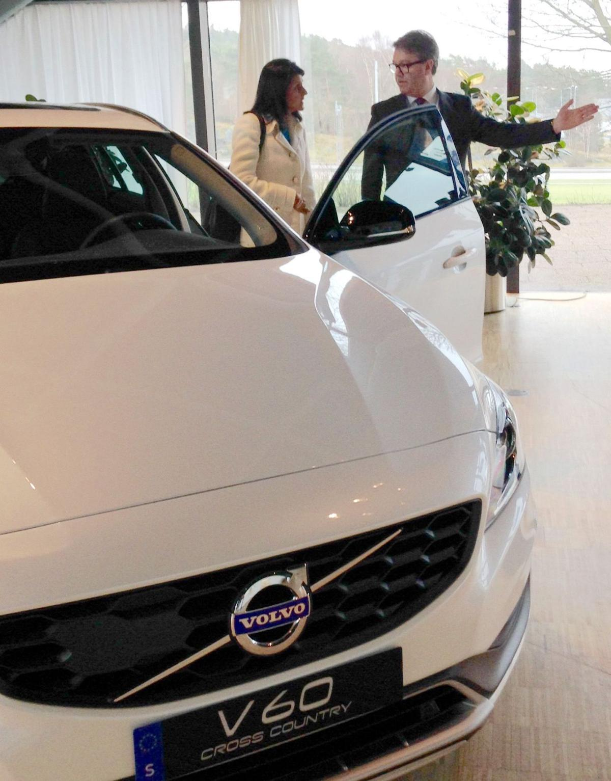 For us car buyers all is forgiven as volvo plant gets under way