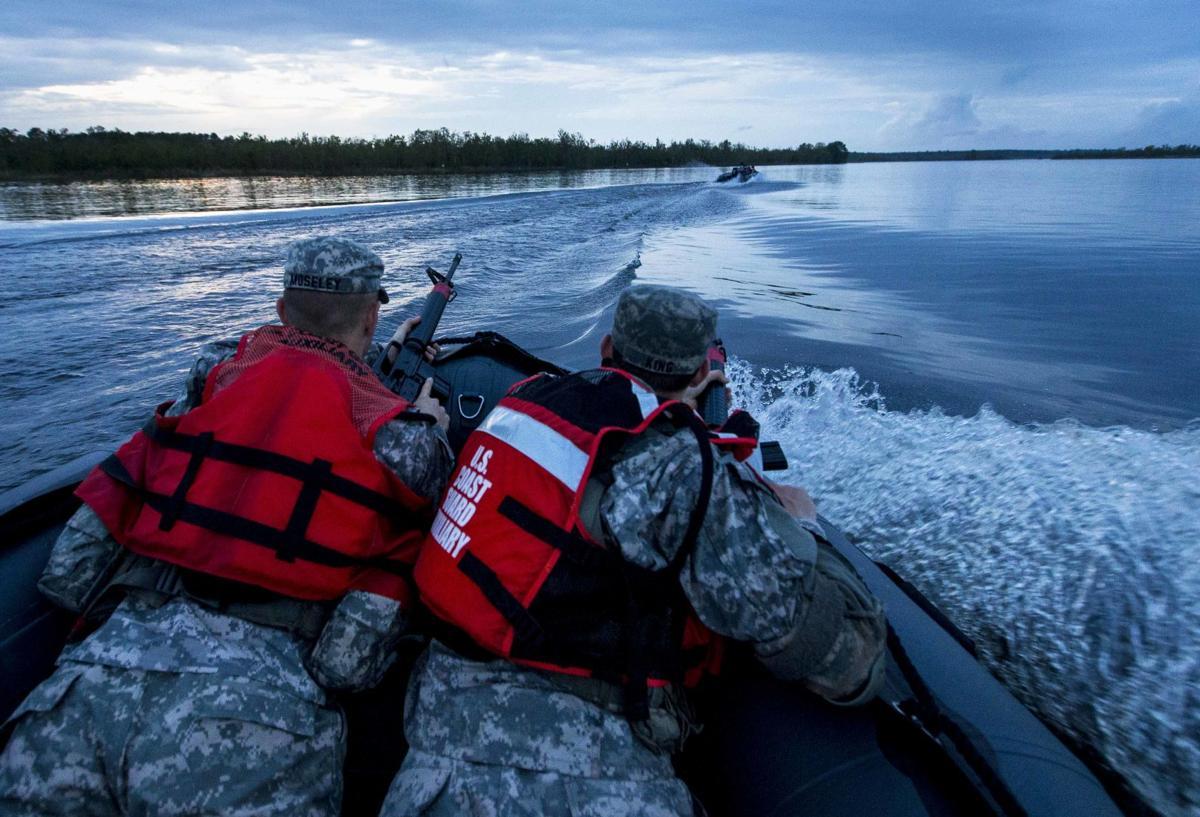 Photos: The Citadel's Cordell Airborne Rangers defense ...