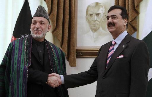 Iranian, Afghan leaders visit Pakistan for summit