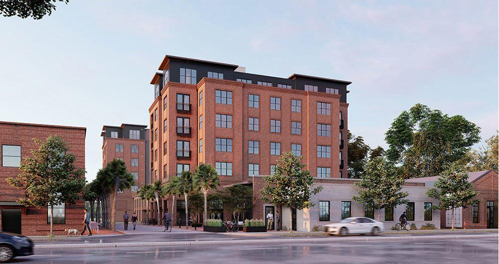 Apartment cluster in upper Charleston to see new $34M, 7-story project