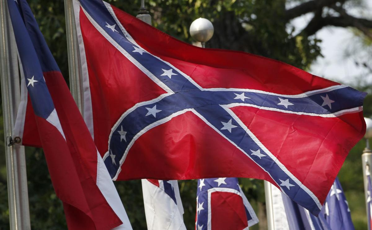 Charleston police arrest man who tried to take Confederate flags from S.C. Secessionist Party members