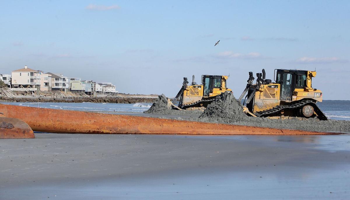 Folly Beach Renourishment Starts (copy)
