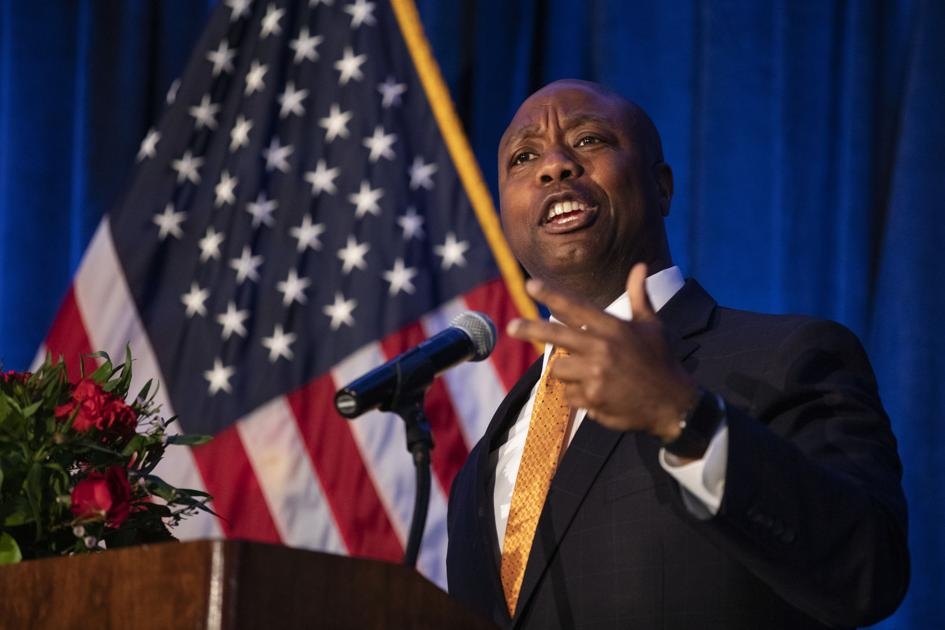 Tim Scott calls on Virginia to address its 'obvious looming' racial scandal