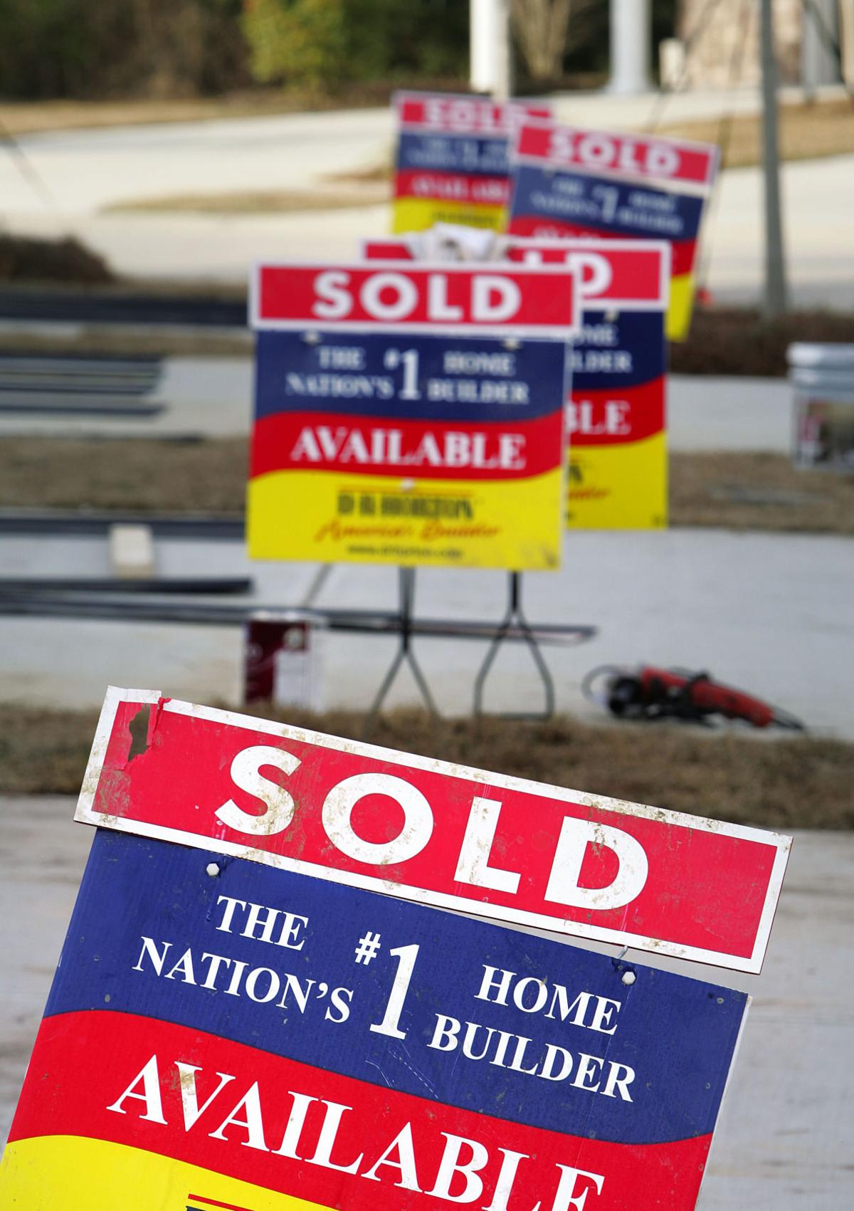 Home sales ride high in February