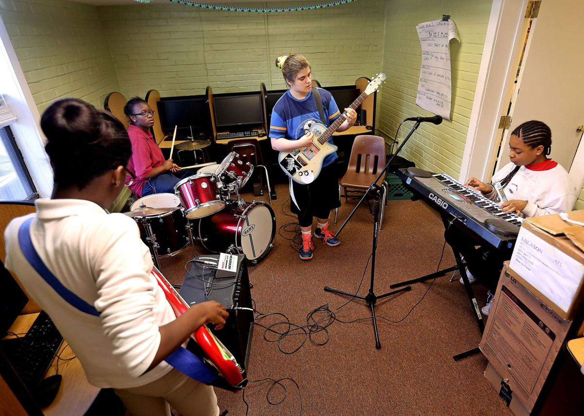 In tune with music and social justice Young performers with Girls Rock Charleston to perform April 29