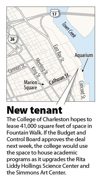 C of C poised to lease more space