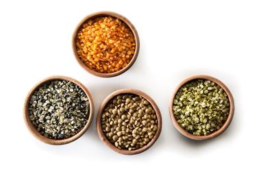 Simple lentils a canvas for creativity