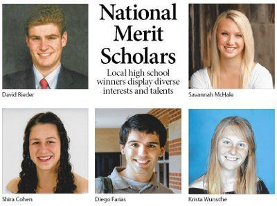 National Merit Scholars: Local high school winners display diverse interests and talents