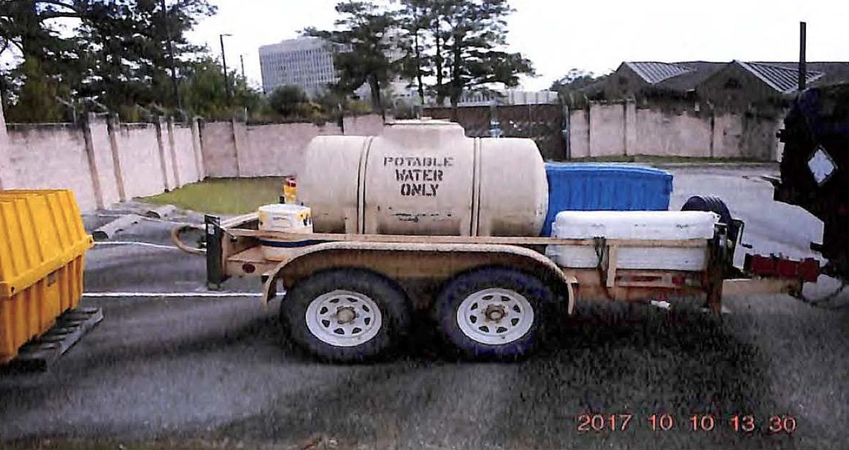 Army water trailer (copy)