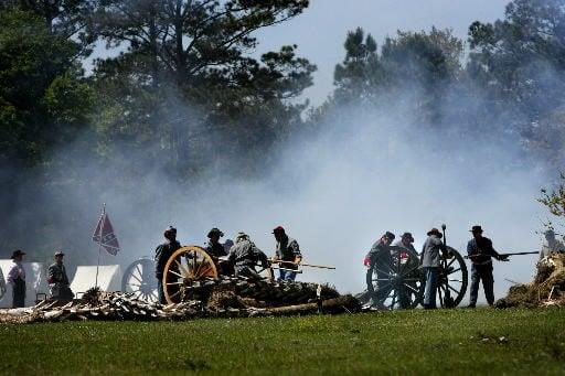 Battle of Charleston re-enactment