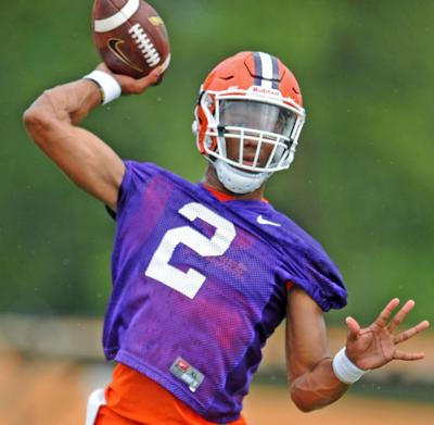 Clemson Opens No 2 In First College Football Playoff Standings