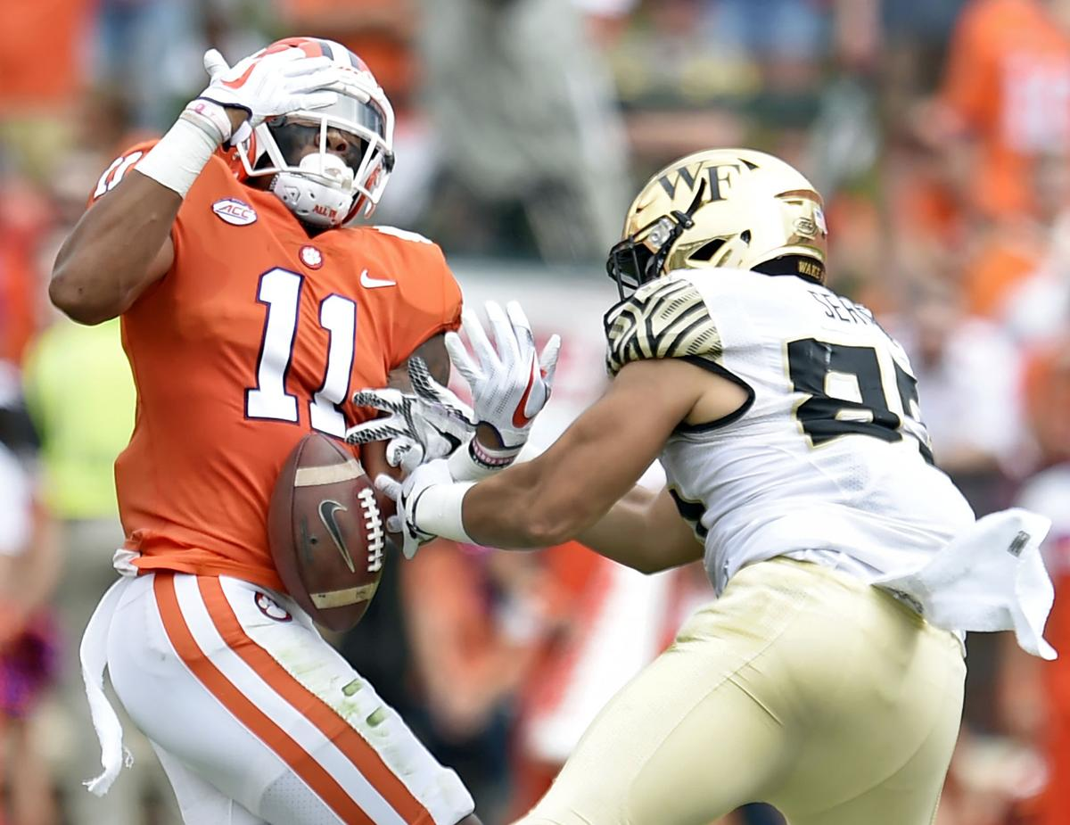 Kickoff Time Set For Top 25 Matchup Between Clemson And Wake