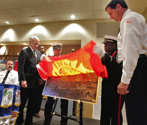 Rotary clubs remember Charleston 9 firefighters