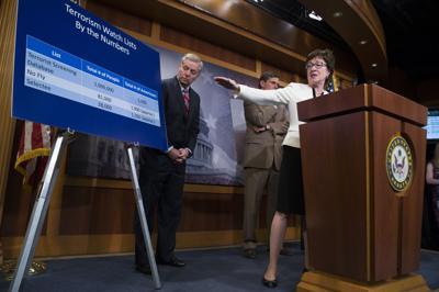 Graham co-sponsors gun limits Bill targets terrorists, focuses on watch lists