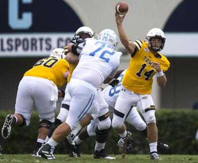 info for 3ae22 d435c The Citadel unable to stop Towson QB Flacco, again | Sports ...
