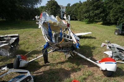 Cessna collision
