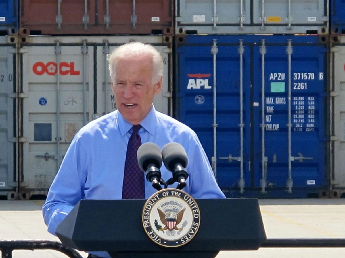 Vice President Joe Biden's visit today expected to cause traffic delays
