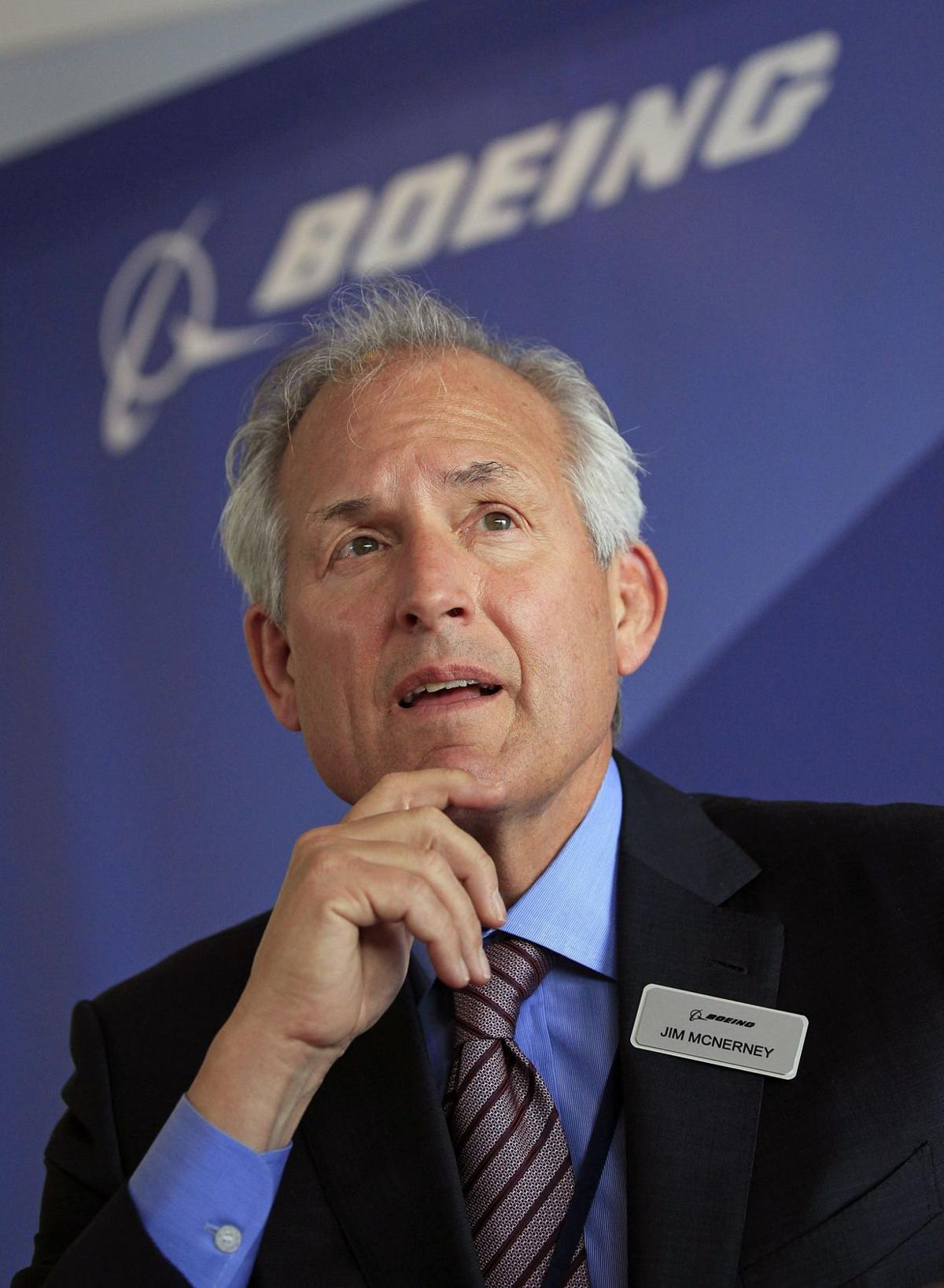 Boeing CEO McNerney stepping down; Muilenburg to step in July 1