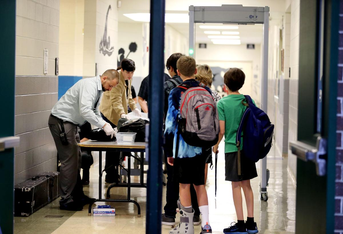should there be metal detectors in schools