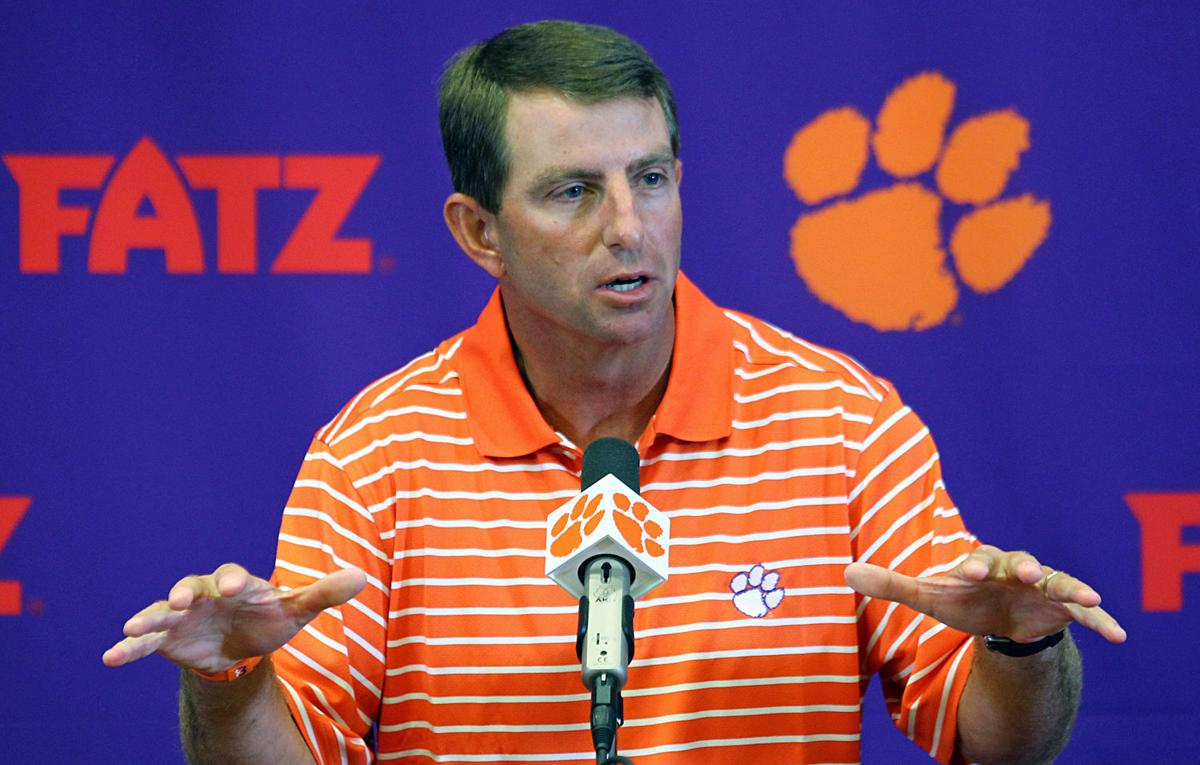 National group accuses Clemson football staff of 'unconstitutional behaviors' over religion